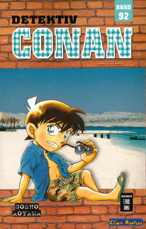 comic cover Detektiv Conan 92