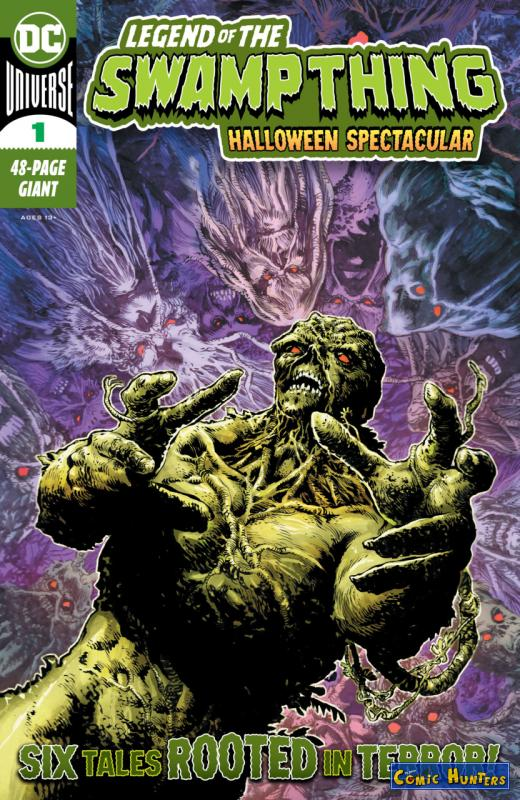 comic cover Legend of the Swamp Thing Halloween Spectacular 1