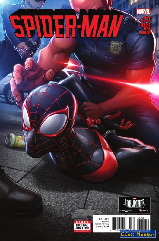 comic cover Spider-Man 20