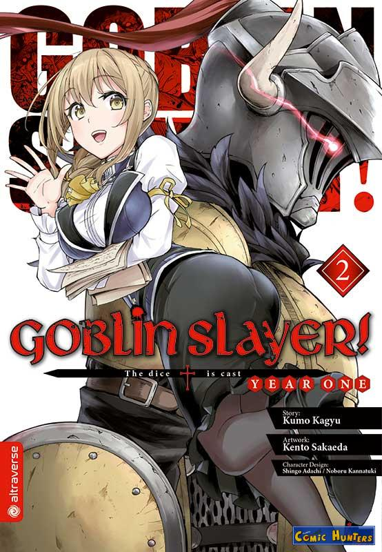 comic cover Goblin Slayer! Year One 2