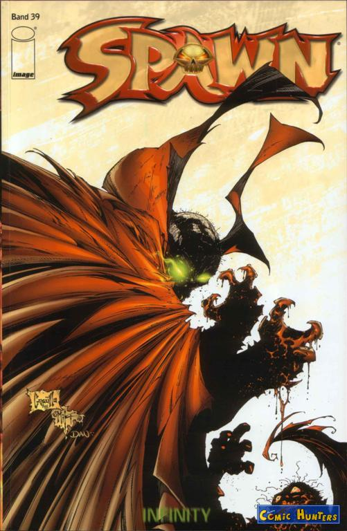 comic cover Spawn 39