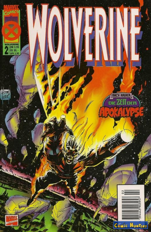 comic cover Wolverine 2