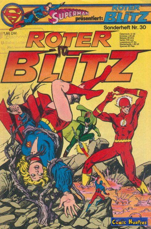 comic cover Roter Blitz 30