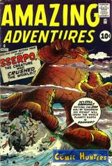 Thumbnail comic cover Amazing Adventures 6