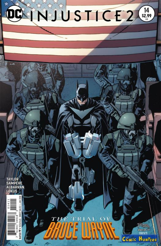 comic cover The Trial of Bruce Wayne 14