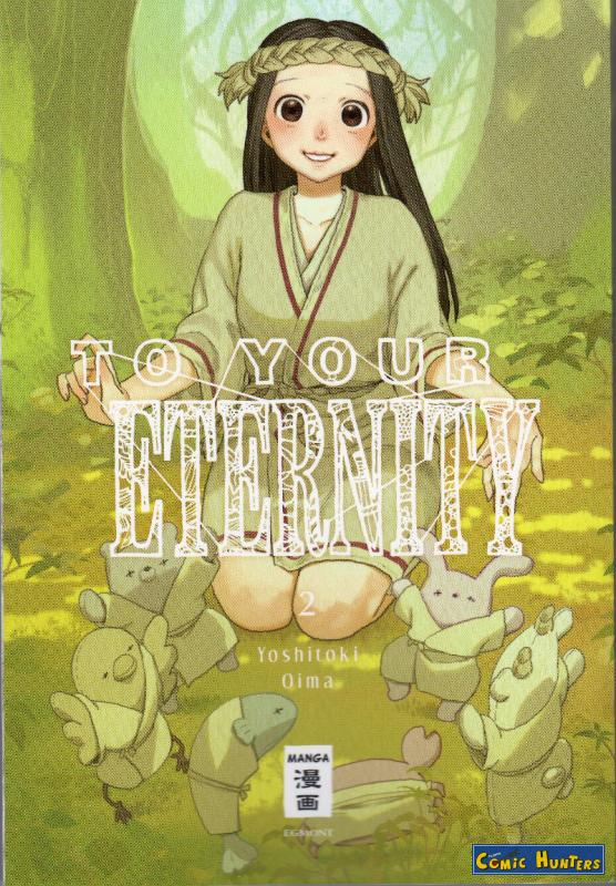 comic cover To Your Eternity 2