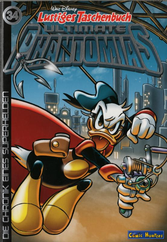 comic cover Ultimate Phantomias 34