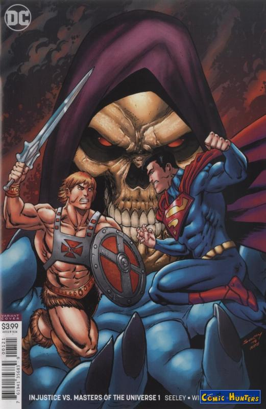 comic cover To Eternia with Death (Variant Cover-Edition) 1