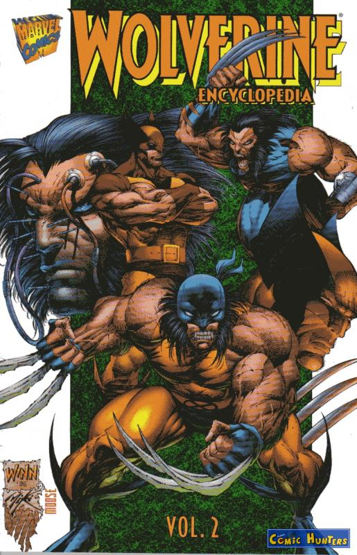 comic cover Wolverine Encyklopedia Vol.1 #2 2