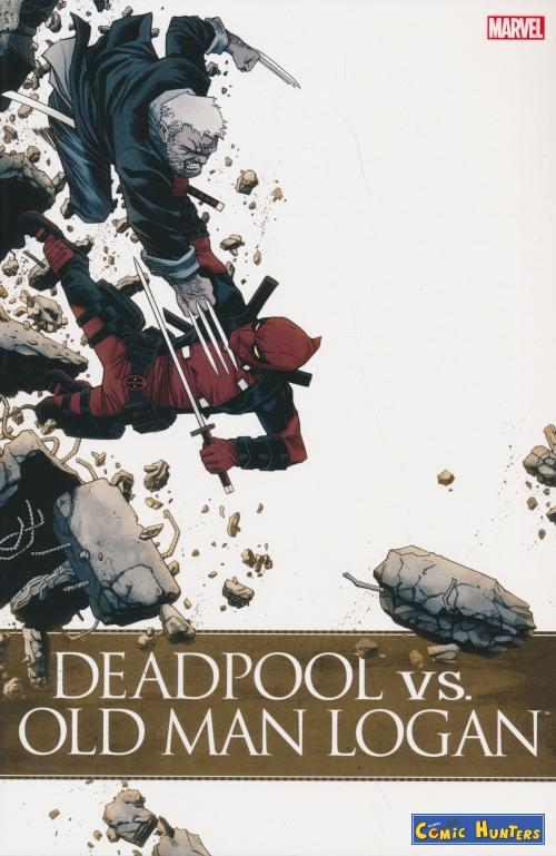 comic cover Deadpool vs. Old Man Logan (Variant Cover-Edition)