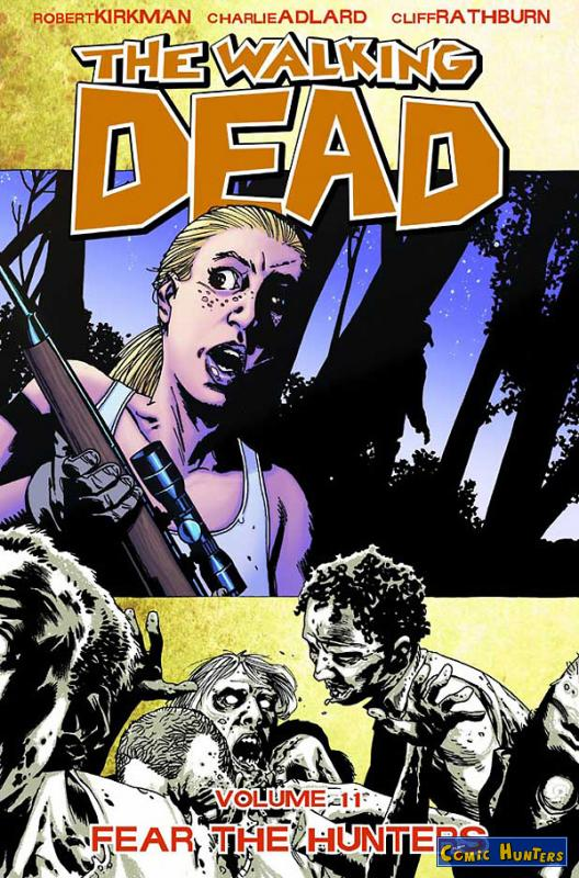 comic cover The Walking Dead Vol. 11: Fear the Hunters 11