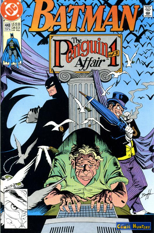 comic cover The Penguin Affair: I Pawns 448
