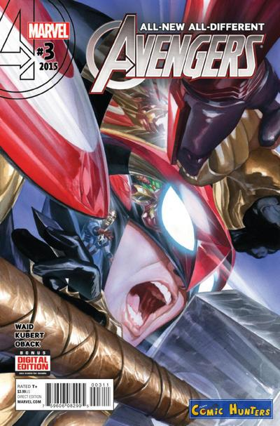 comic cover All-New, All-Different Avengers 3