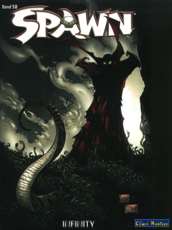 comic cover Spawn 58