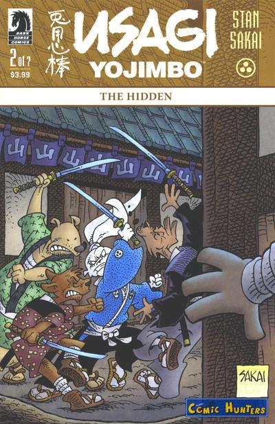 comic cover The Hidden, Part Two 2