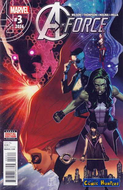 comic cover A-Force 3