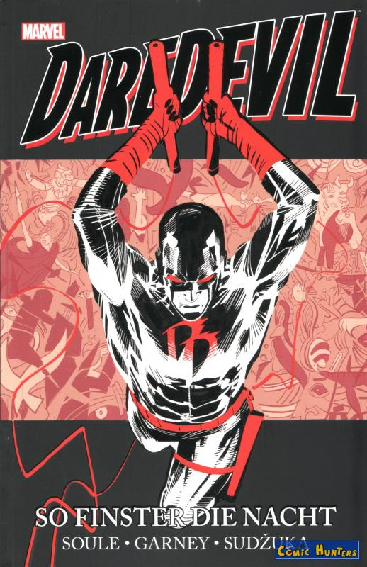 comic cover Daredevil: So finster die Nacht