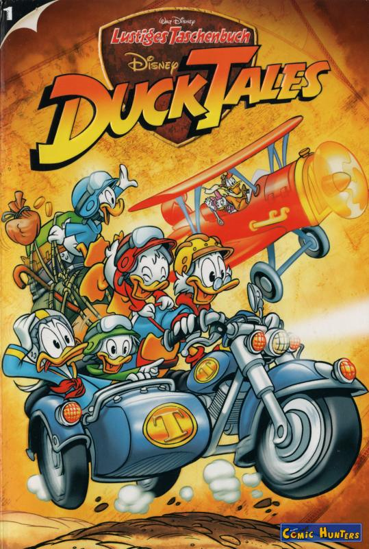 comic cover DuckTales 1