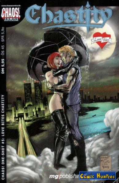 comic cover Love Bites Chastity 5