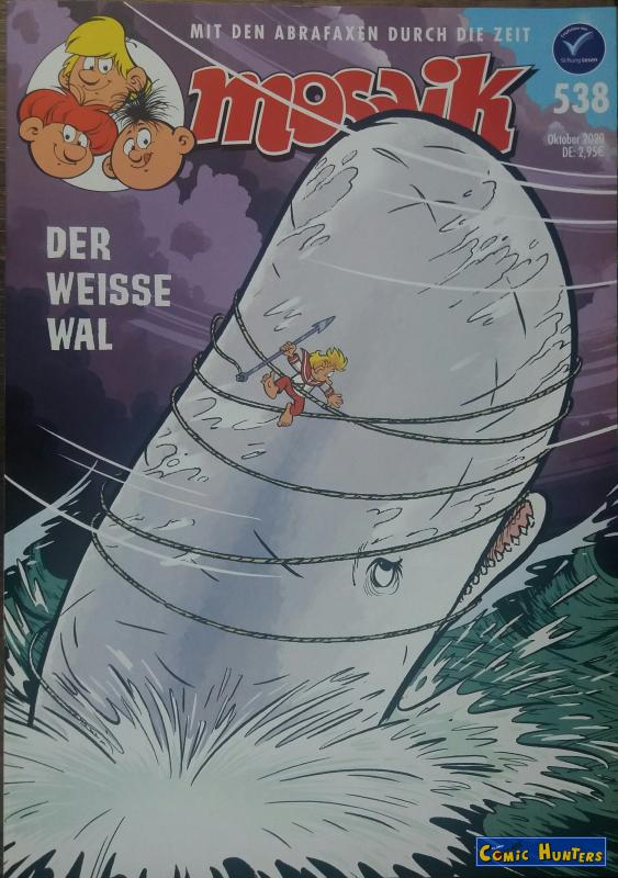comic cover Der weisse Wal 538