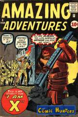 Thumbnail comic cover Amazing Adventures 4