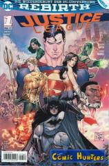 Justice League (TV Digital Variant Cover-Edition)