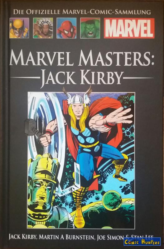 comic cover Marvel Masters: Jack Kirby 175