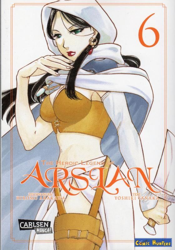 comic cover The Heroic Legend of Arslan 6