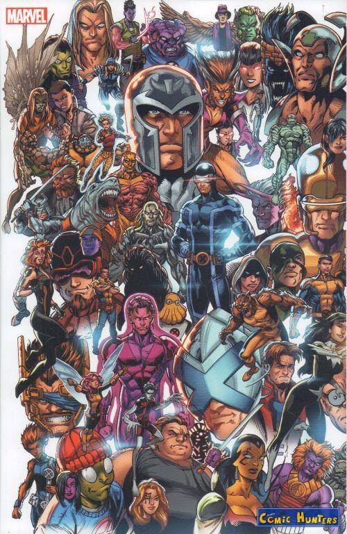 comic cover X-Men (Panorama Variant Cover-Edition [Teil 1]) 1