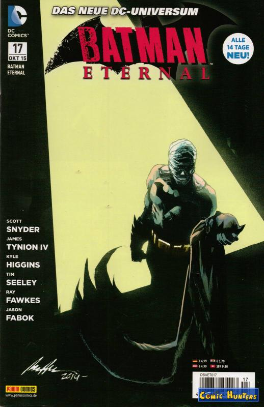 comic cover Batman Eternal 17
